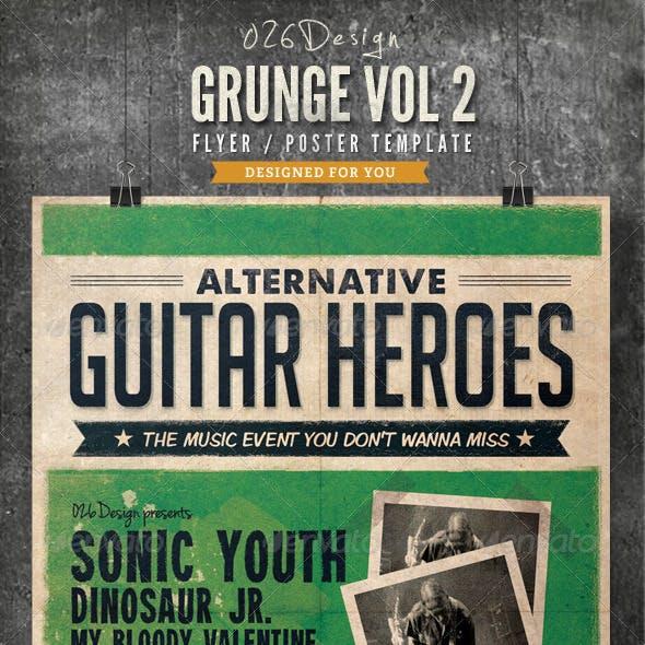 Grunge Poster / Flyer Vol II