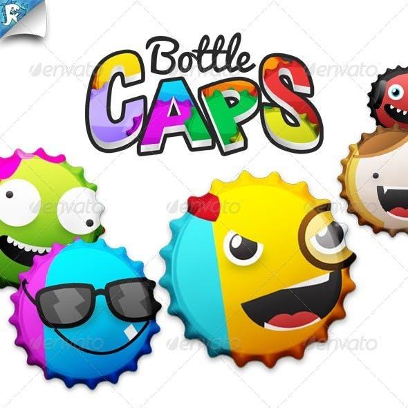 BottleCaps - Bottle Cap Generator - Cap It!