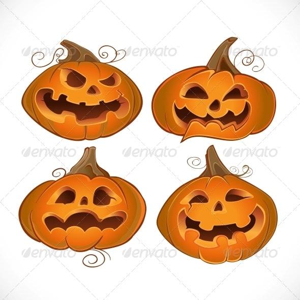 Halloween Fun Pumpkins - Halloween Seasons/Holidays