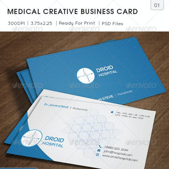 Medical Creative Business Card v0