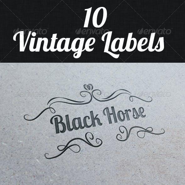 Vintage Labels II