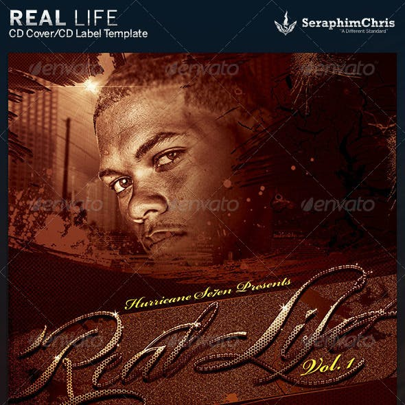 Real Life CD Artwork Template