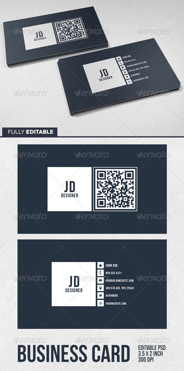 Gallery Designer Business Card - Business Cards Print Templates
