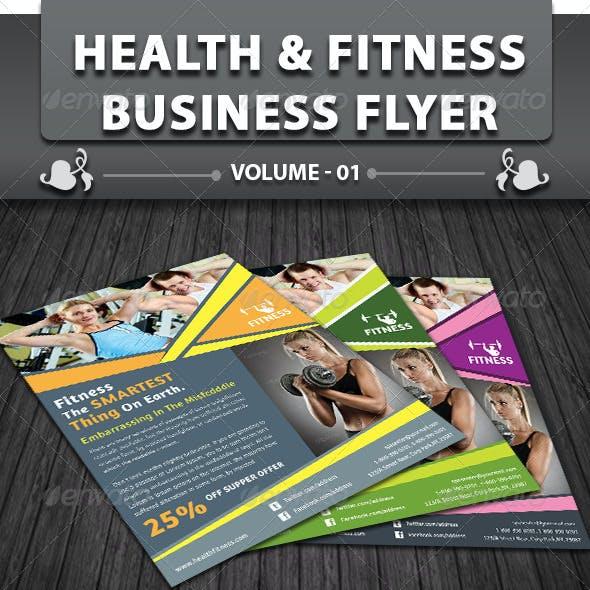 Health & Fitness Center Flyer   Volume 1
