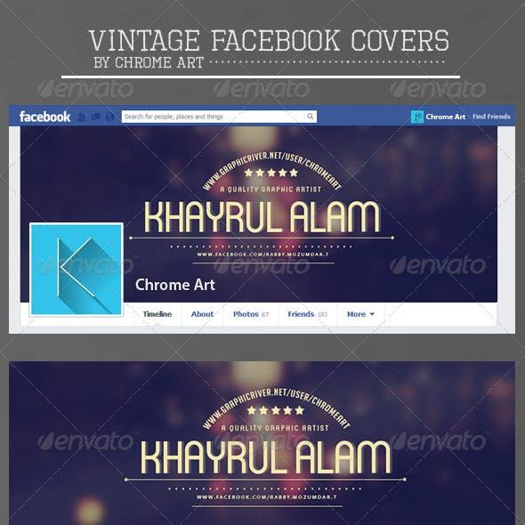 Vintage Facebook Covers