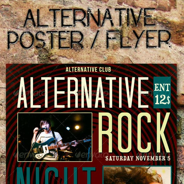 Alternative Event Poster / Flyer