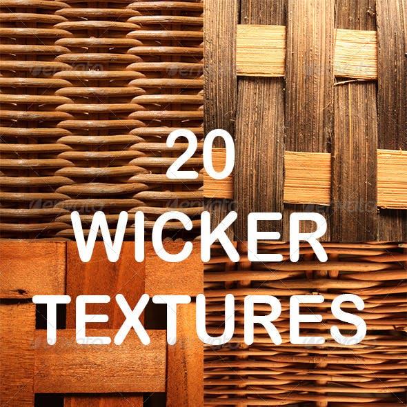20 Wicker Textures