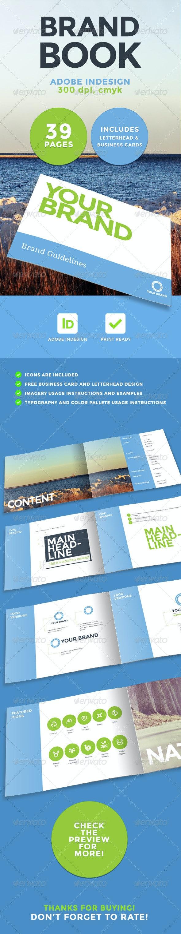 Brand Book - Corporate Brochures