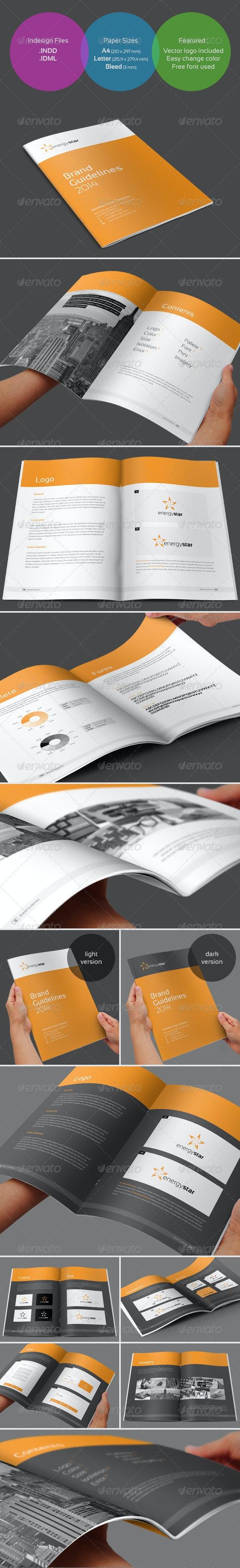 Brand Guidelines - Corporate Brochures
