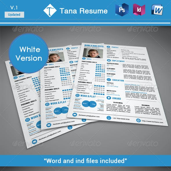 Tana resume