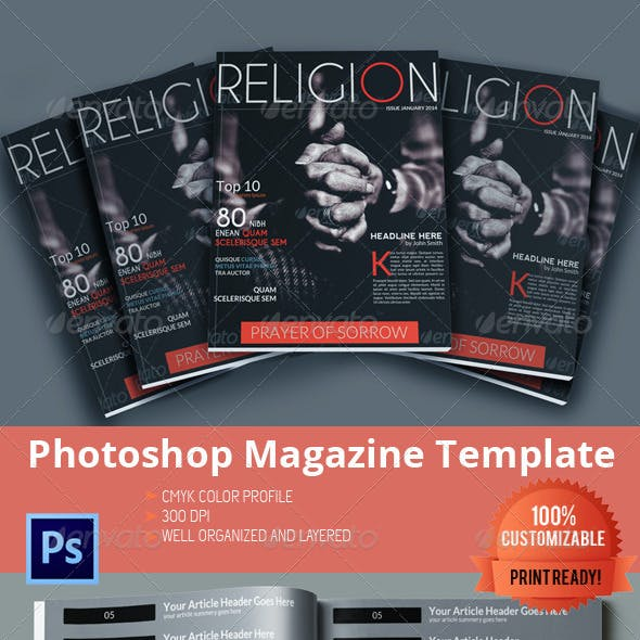 Religion - Magazine Template