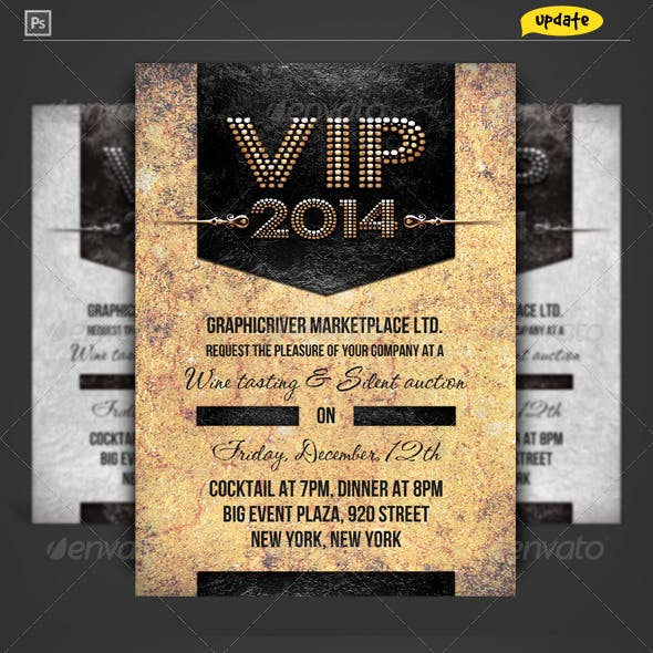 VIP Pass Corporate Invitation