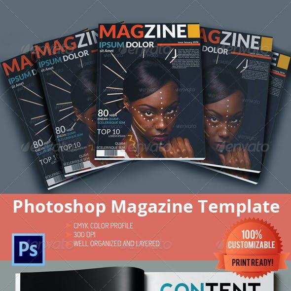Multipurpose Magazine Template - Photoshop PSD