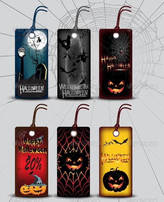 Halloween Labels - Halloween Seasons/Holidays