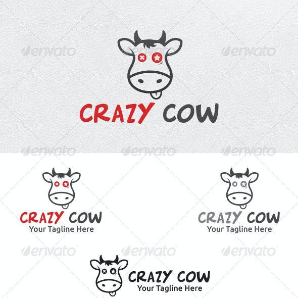 Crazy Cow - Logo Template
