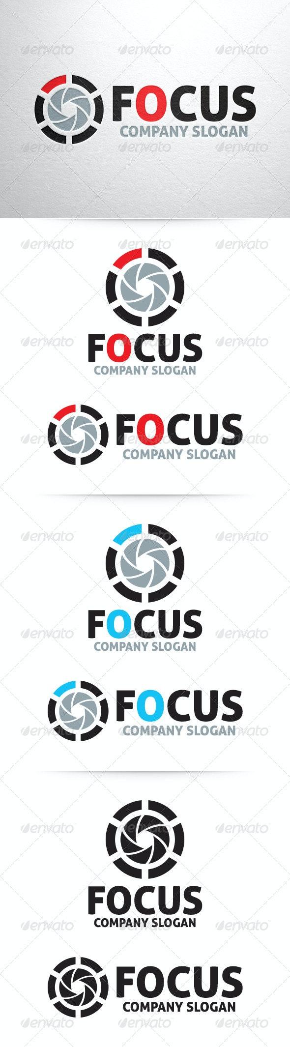 Focus - Photography Logo Template - Symbols Logo Templates