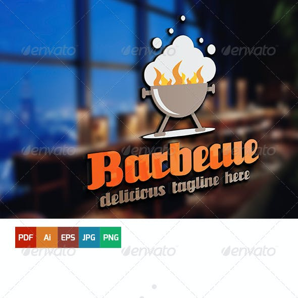 Barbecue Logo Template