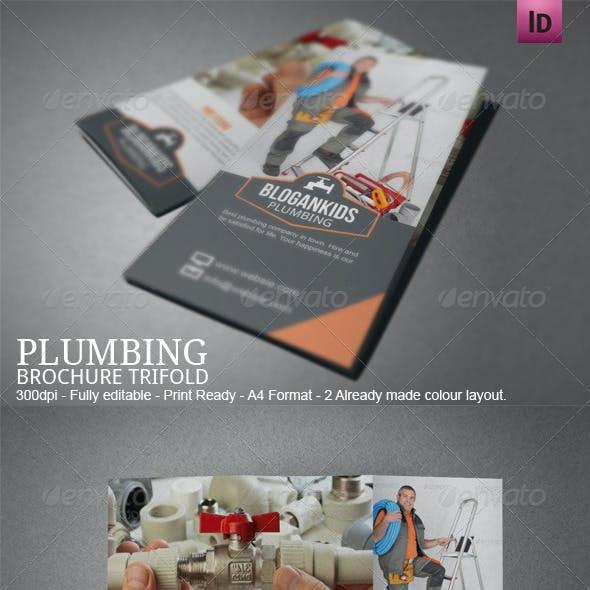 Plumbing Plumber Brochure