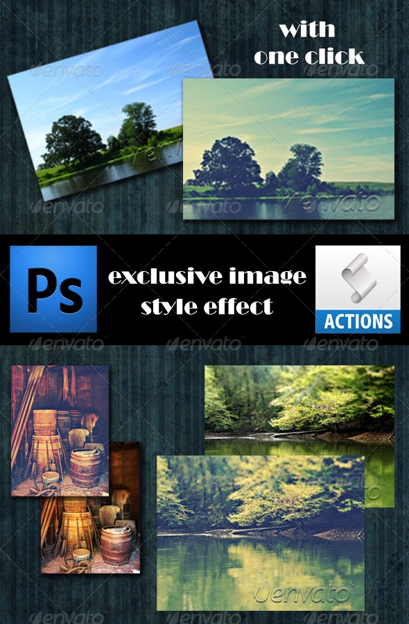 Exclusive Photo Style Effect with Action - Photo Effects Actions