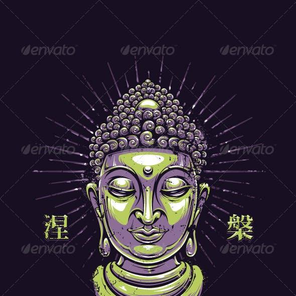 Vector Buddha Print