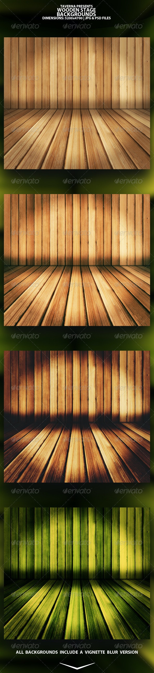 Wooden Stage - Backgrounds - Graphics