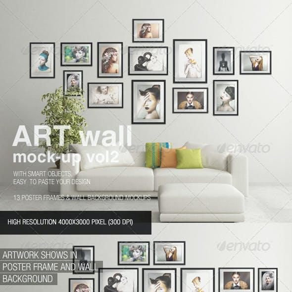 Art Wall Mock-Up Vol.2