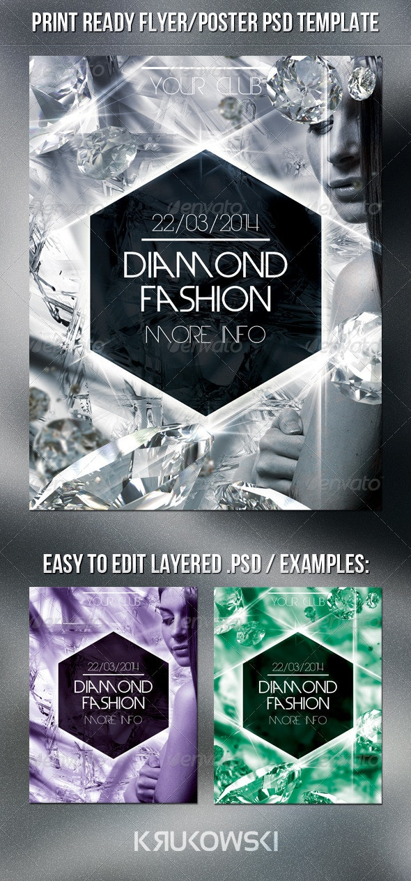 Fashion Flyer Template - Miscellaneous Events