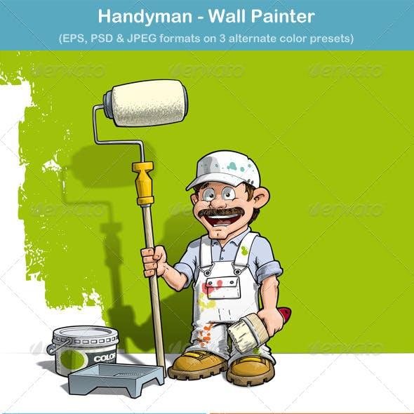 Handyman Wall Painter