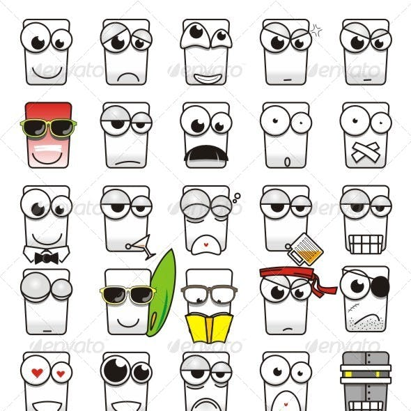 Square Emoticon