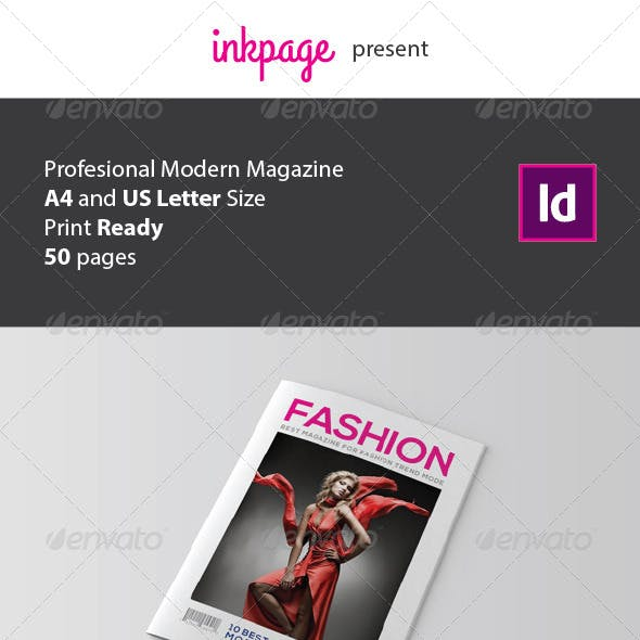 InDesign Magazine Template V1