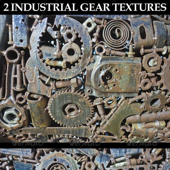 2 Industrial Gear Textures