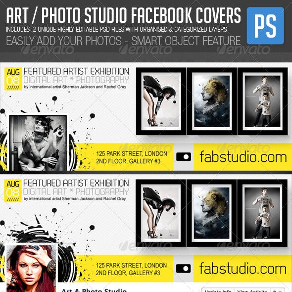 Art Photo Studio Photographers Fb Covers