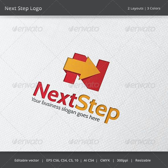 Next Step N Letter Logo