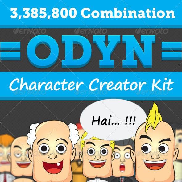 Character Creator Graphics, Designs & Templates