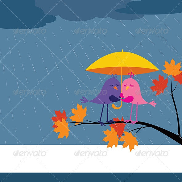 Come Rain or Shine! - Characters Vectors