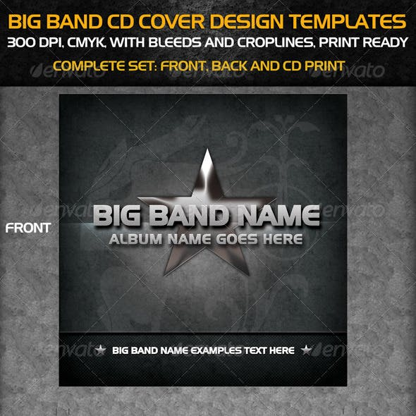 Big Band Cd Cover Templates
