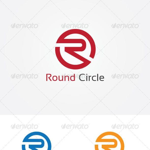 R Letter Circle Logo