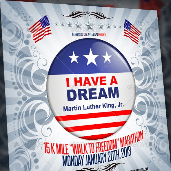 MLK Walk to freedom