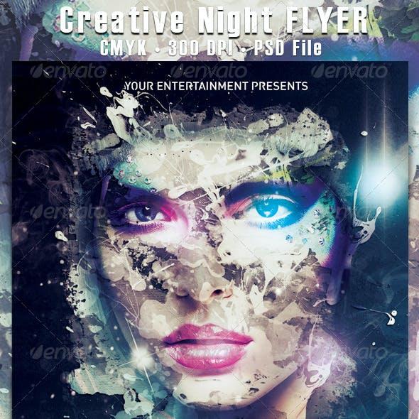 Creative Night Flyer