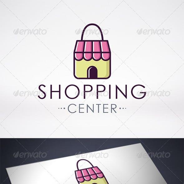 Shopping Center Logo Template