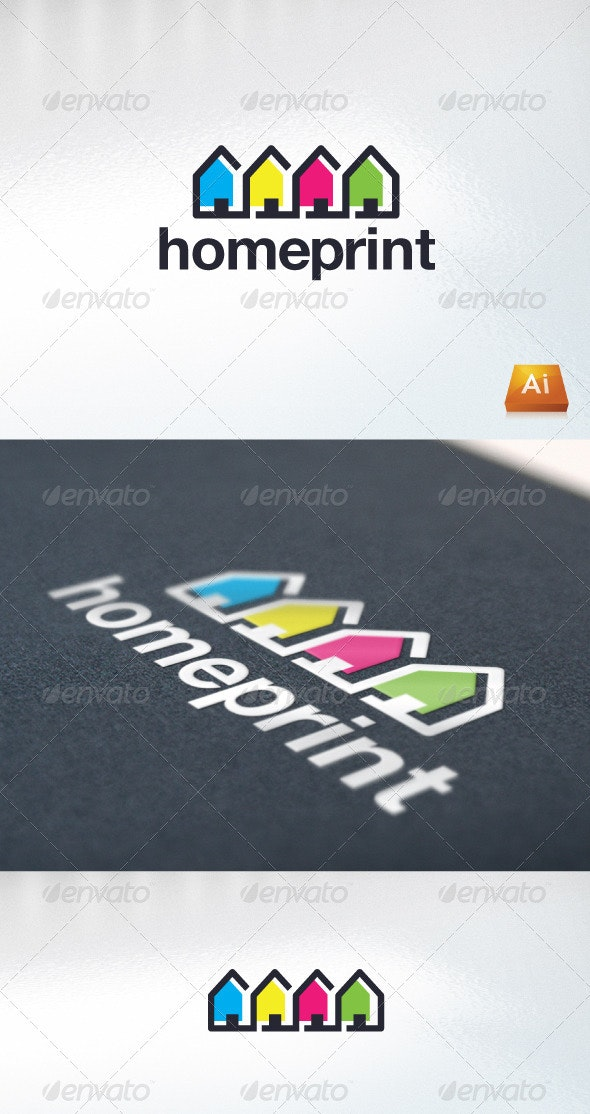 Homeprint - Abstract Logo Templates