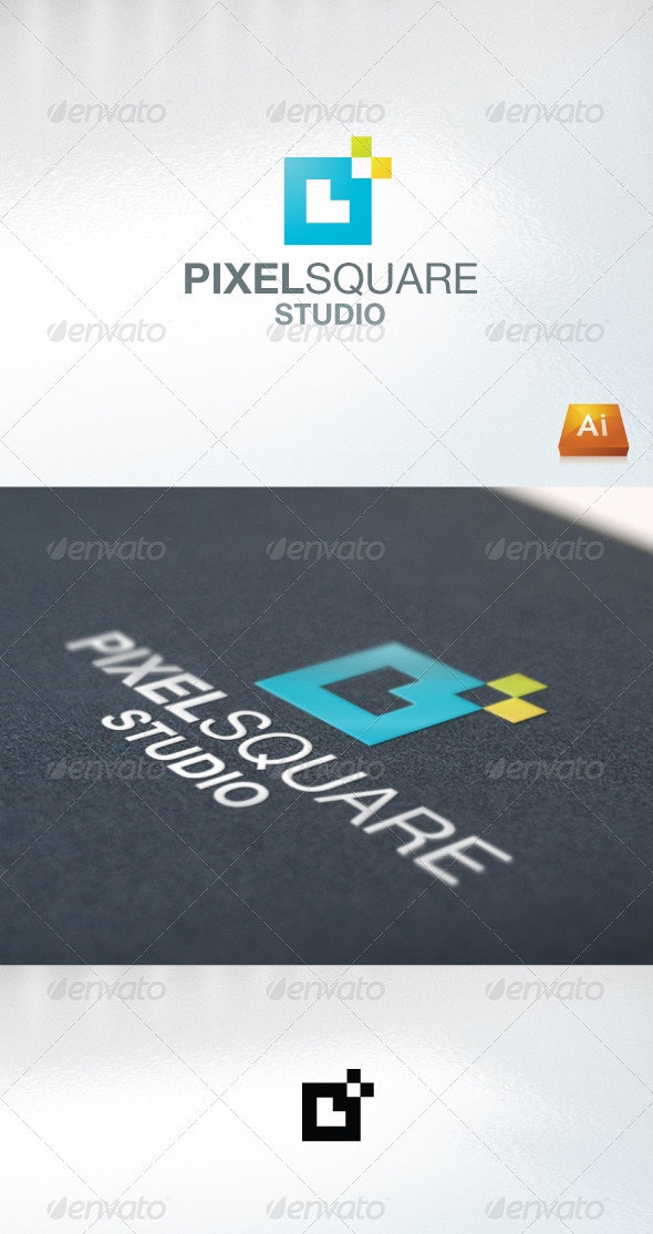 pixelsquare - Abstract Logo Templates