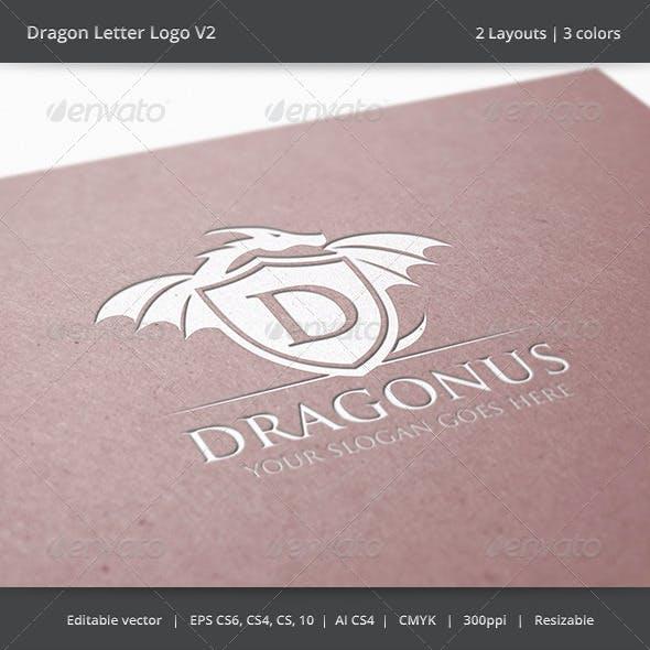 Dragon Letter V2 Logo