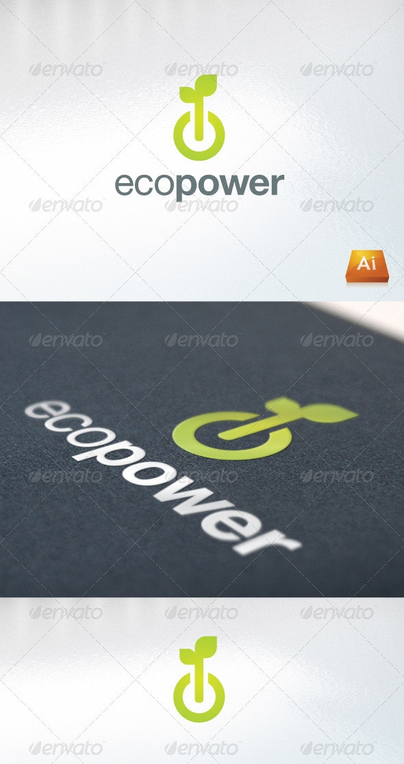 ecopower - Nature Logo Templates