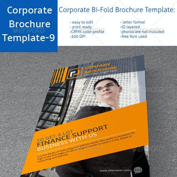Corporate Bi-Fold Brochure Template-9