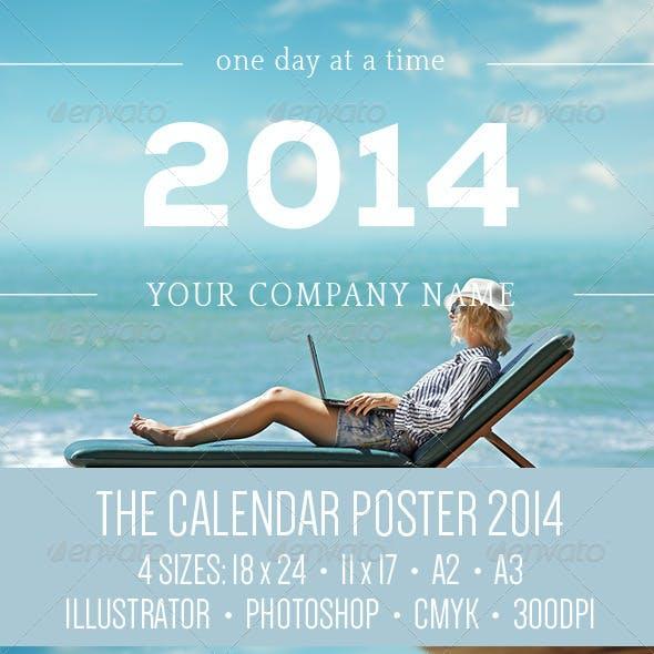 The Calendar Poster: 2014