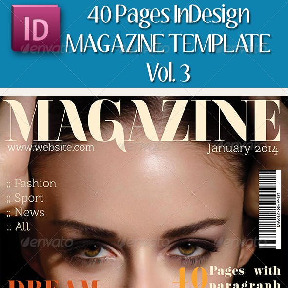 A4/Letter Magazine Template (Vol.3)
