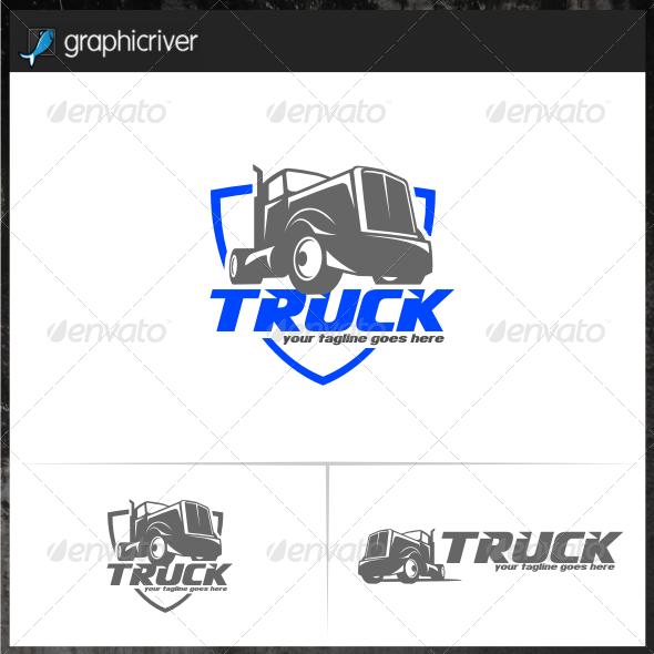 Truck Logo Templates