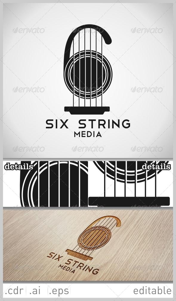 Six String Media Logo