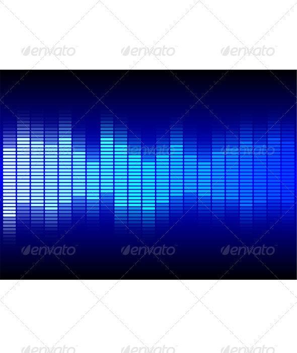 Blue Equalizer - Technology Conceptual